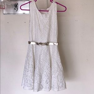 Other - Beautiful cream/white dress!! Perfect for Easter